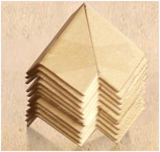 Thanh Ốp góc, thanh góc 3 cạnh, thanh chữ L, hàng hóa, giấy tổ ong, Pallet Giấy